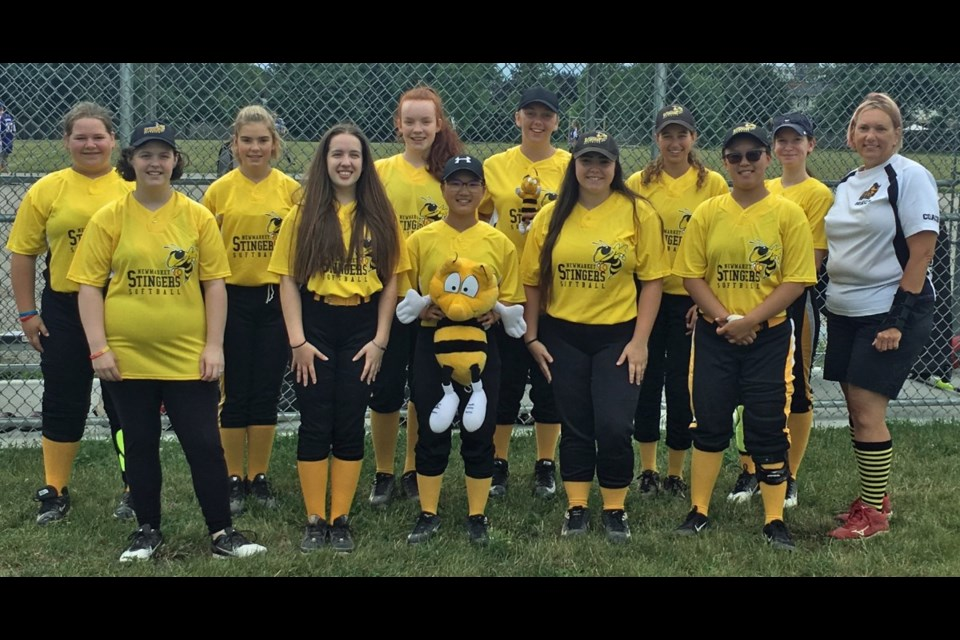 You can #PlayItForward by donating your gently used softball gear and equipment to the Newmarket Minor Softball Association. Supplied photo/NMSA