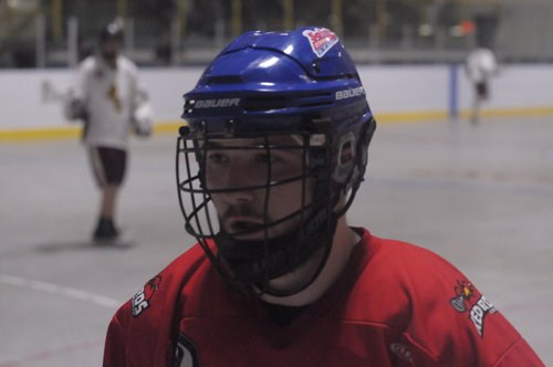 Newmarket Saints Jr B Lacrosse player Luca Romano led the team in scoring last year as a rookie. Supplied photo/Newmarket Saints Jr B Lacrosse