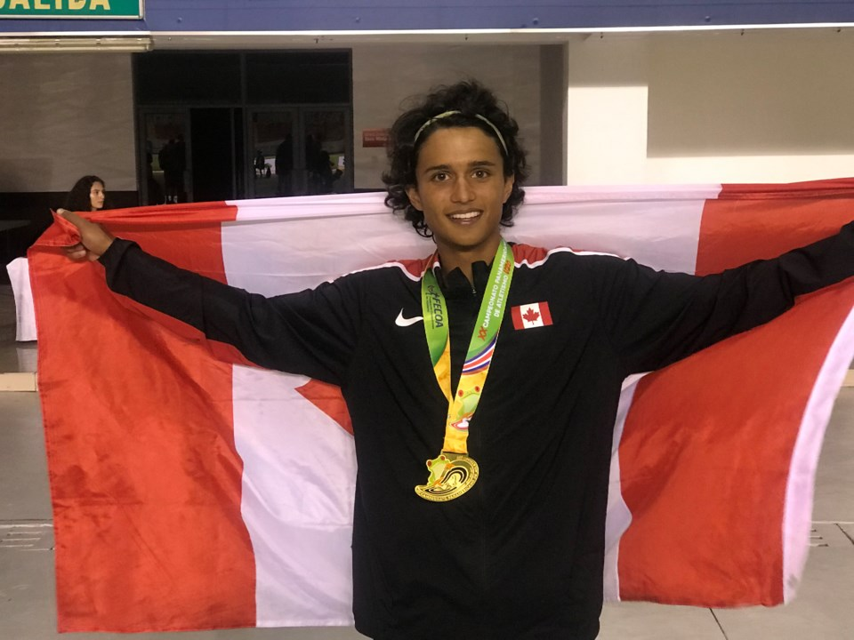 2019 07 23 Joshua DeSouza PanAm Games gold 2