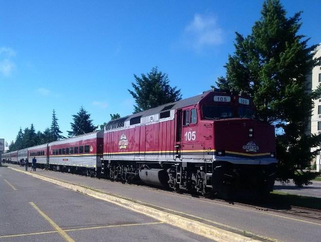 Agawa Canyon train 2