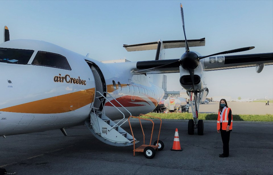 Air Creebec COVID photo