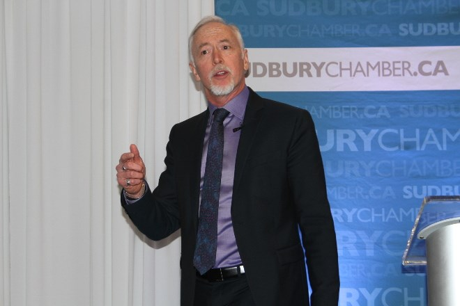 Noront CEO Alan Coutts was the keynote speaker at the Sudbury Chamber of Commerce's Procurement, Employment and Partnerships Conference.