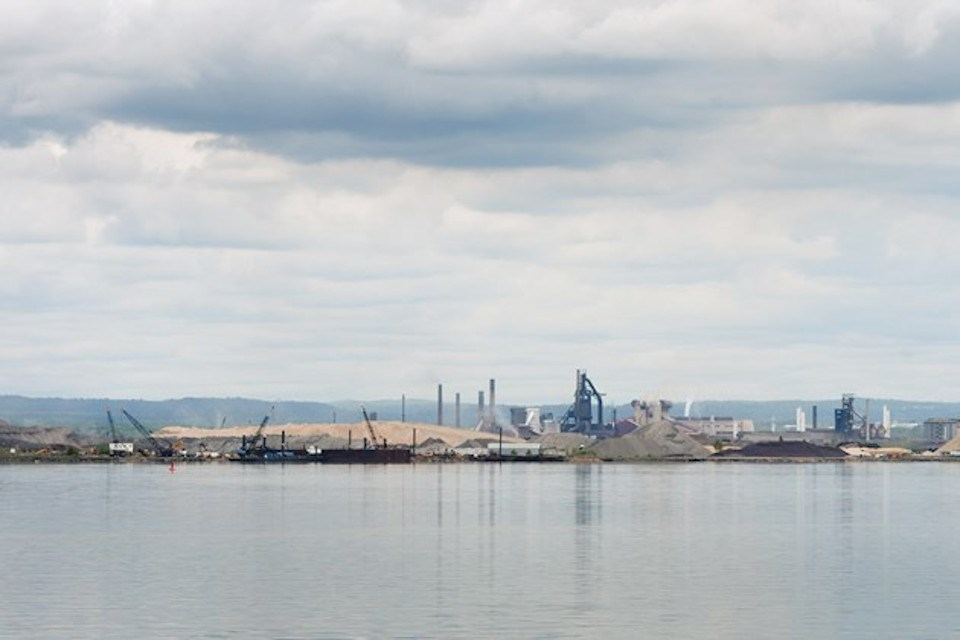 Algoma Steel export dock (Kenneth Armstrong photo)