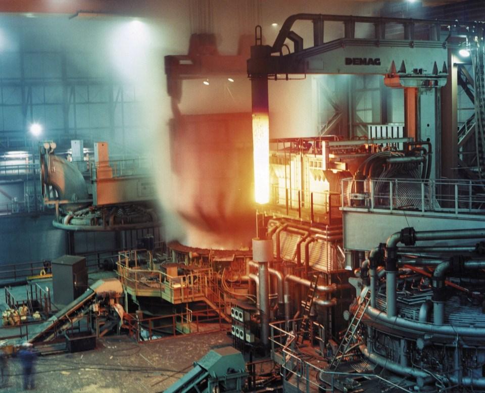 ArcelorMittal electric arc furnace
