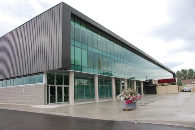 Arena facade 4