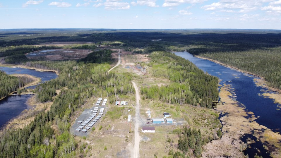 Auteco Minerals Pickle Crow Project (aerial)