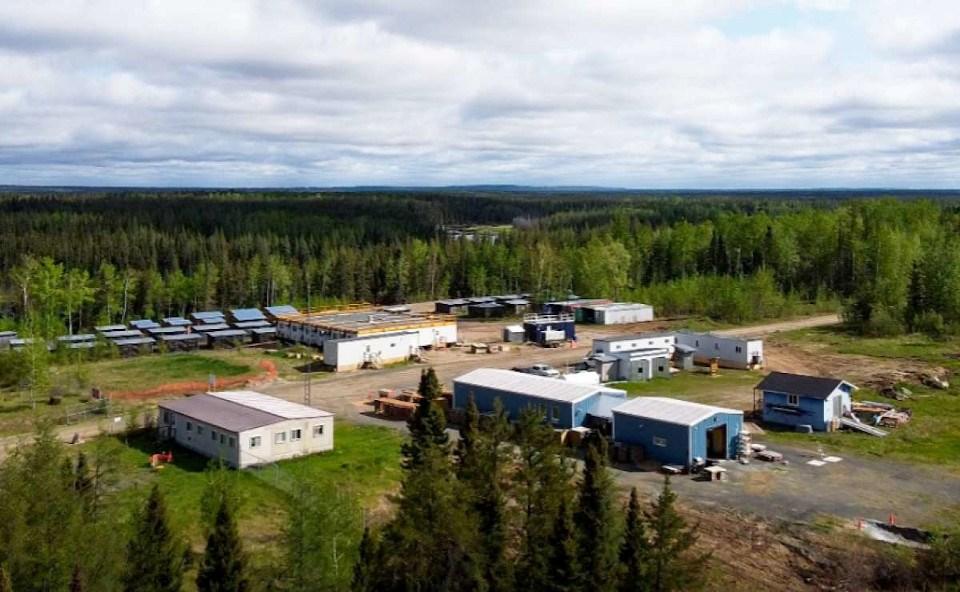 Auteco Minerals Pickle Lake exploration camp 2