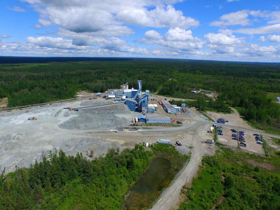 Black Fox Mine Complex (McEwen Mining)