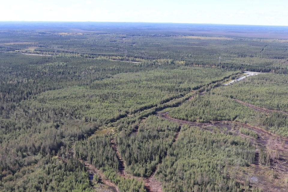 Canada Nickel Crawford Project (aerial)