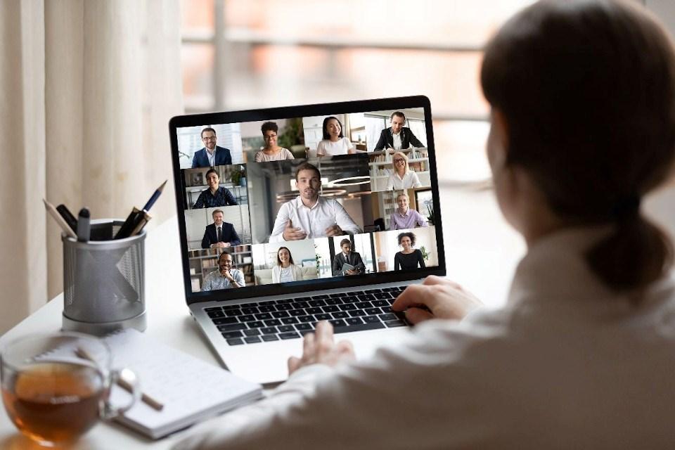 CIM photo of Zoom meeting