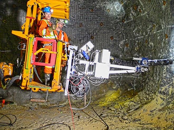 Coleman mine remote loader