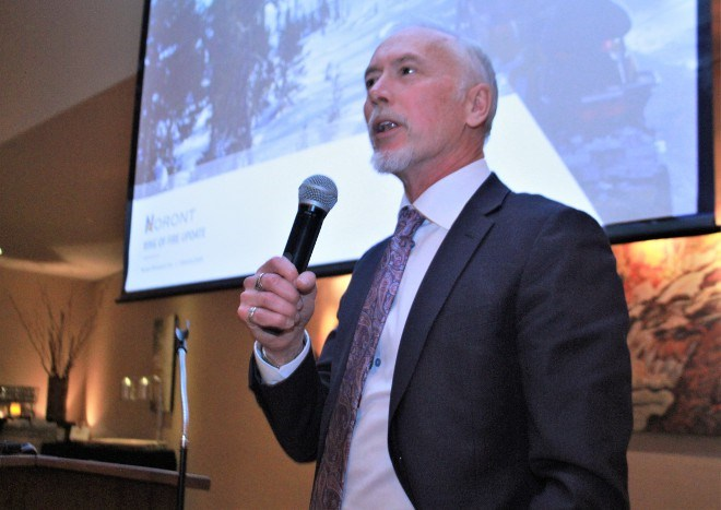 Alan Coutts, CEO of Noront Resources (File photo).
