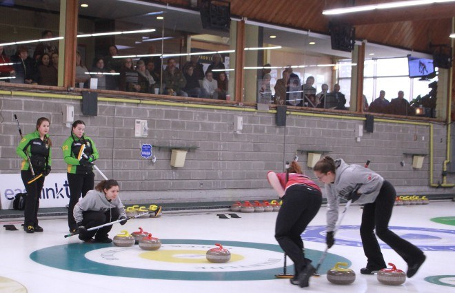 During the winter the Idylwylde's five-sheet curling rink is a popular spot for bonspiels, including the recent Northern Ontario Curling Association's Under 21 Championships.