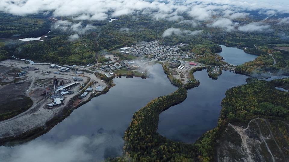 Dubreuilville aerial