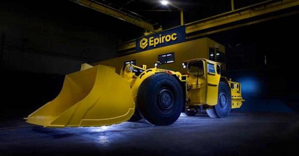 Epiroc stock photo