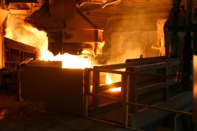 Ferrochrome smelter