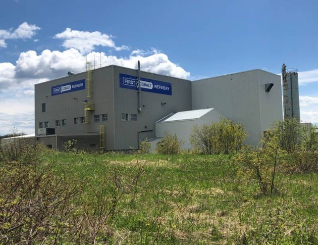 First Cobalt (Yukon) refinery