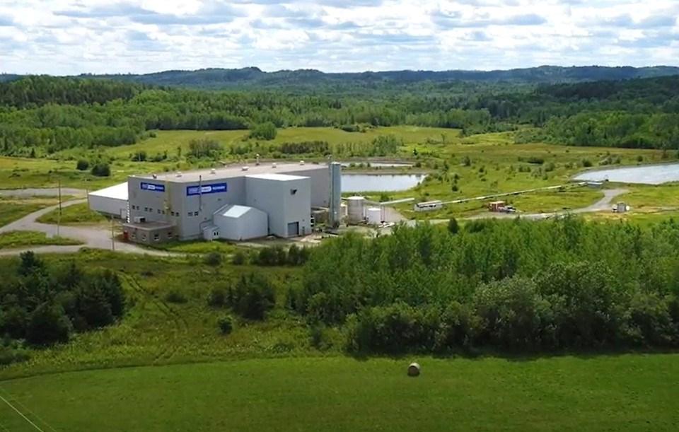 First Cobalt's refinery in Temiskaming (First Cobalt Facebook)