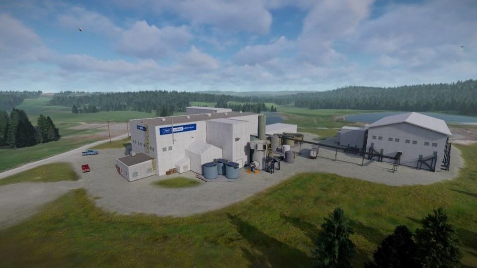 First Cobalt refinery conceptual