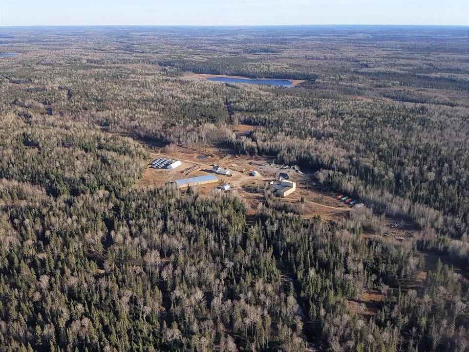 First Mining Goldlund (aerial)