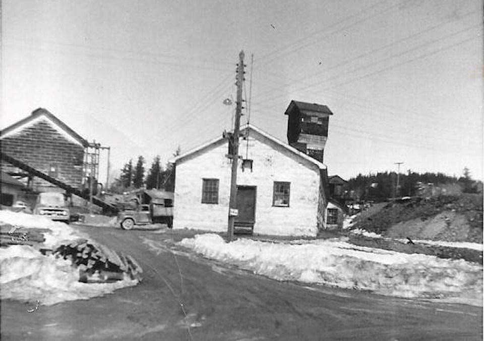 Former Castle Mine Gowganda (Canada Silver Cobalt Works)