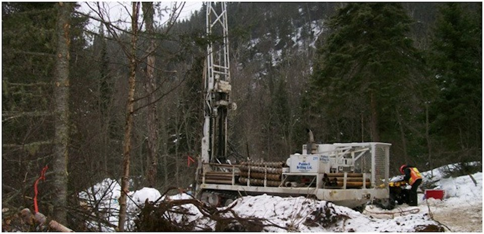 Generation Mining drill rig