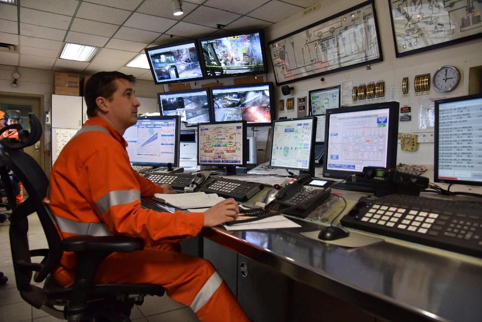 Glencore control room