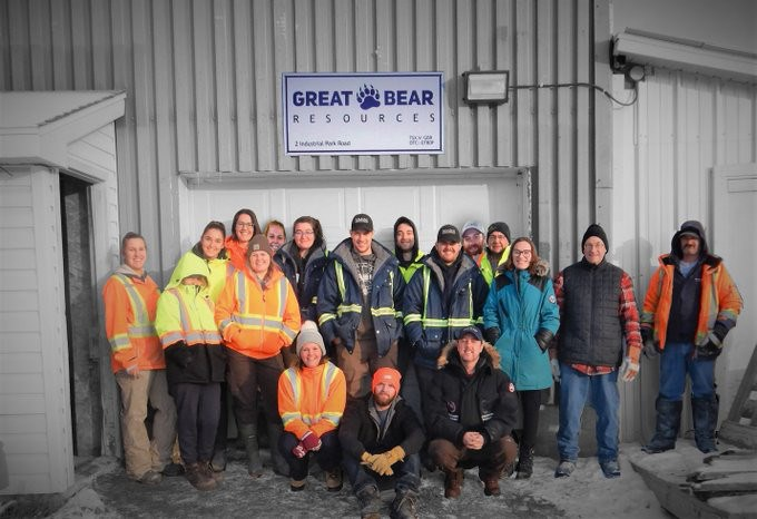 Great Bear Resources crew photo