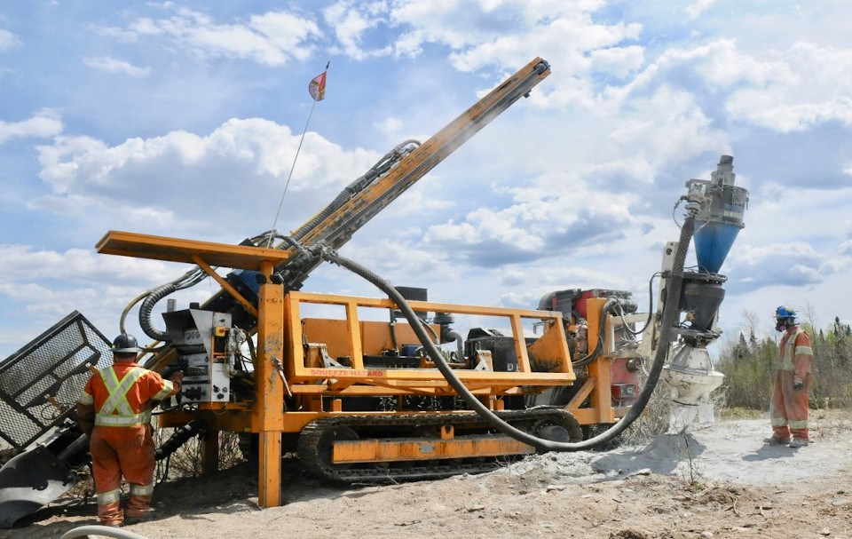 Greenstone Gold drilling