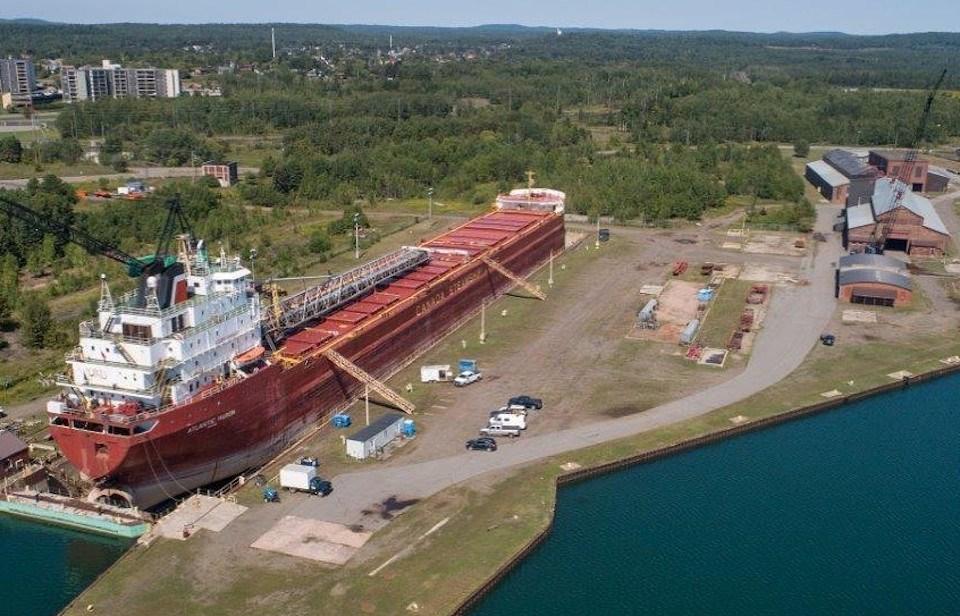 Heddle Marine's Thunder Bay shipyard (Supplied)