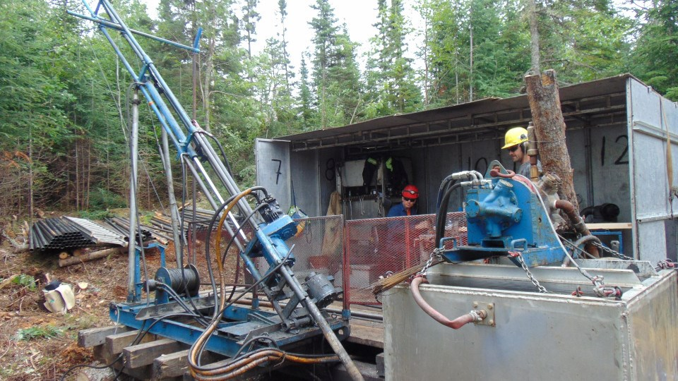 Hemlo Explorers (Wire Lake drilling)