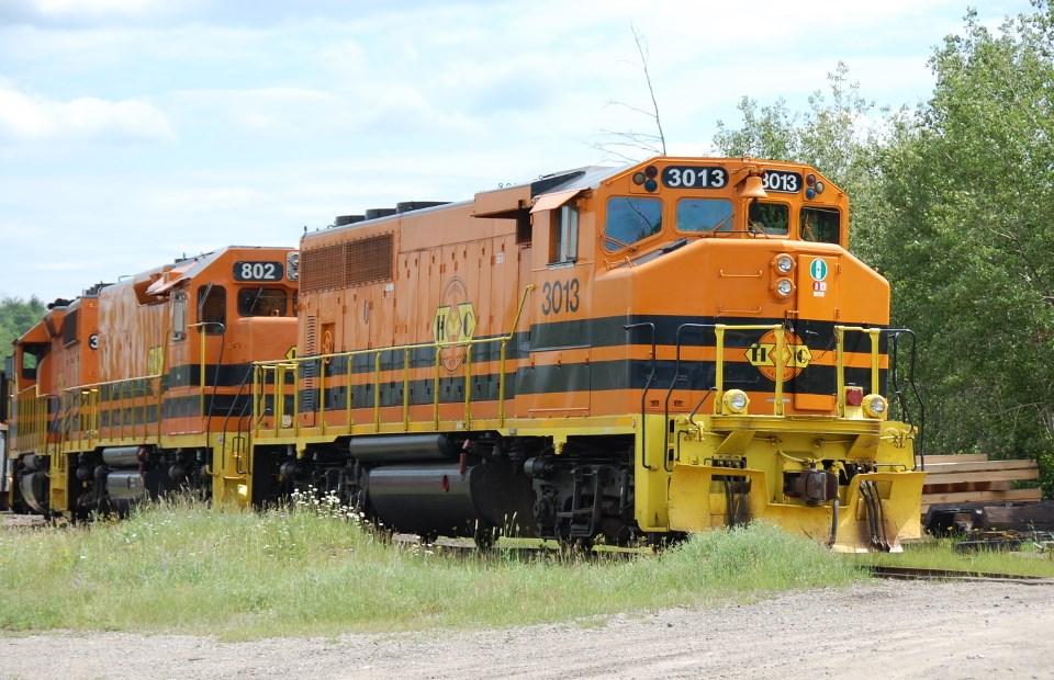 Huron Central locomotive