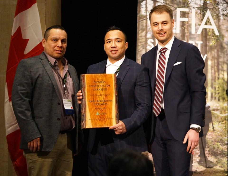 Jason at OFIA awards