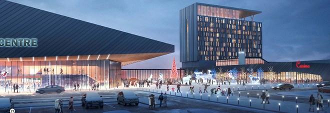 Kingsway Entertainment District conceptual