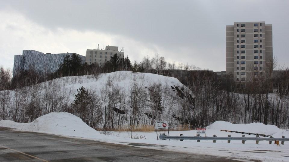 Laurentian University winter photo