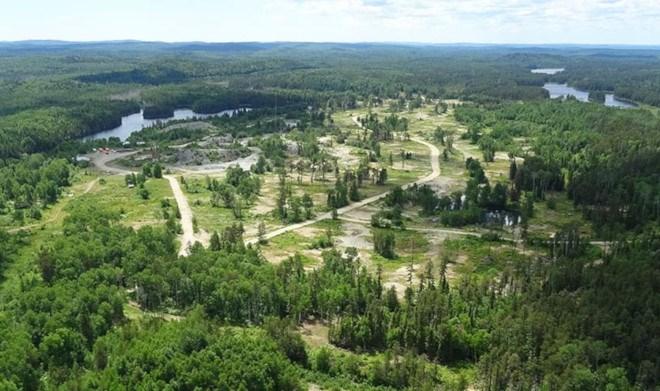 Magino Mine project near Dubreuilville (Argonaut Gold photo)