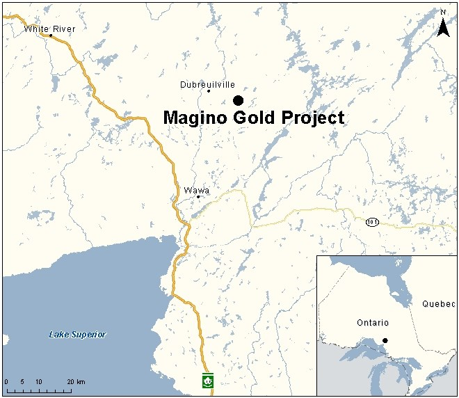 Magino project map