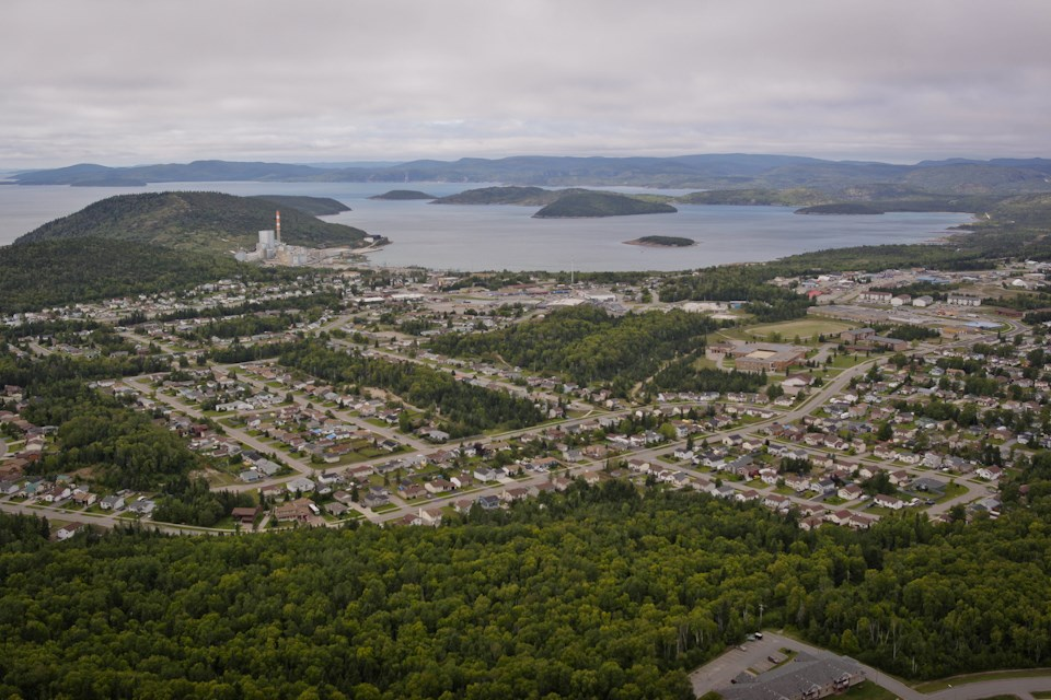 Marathon aerial shot