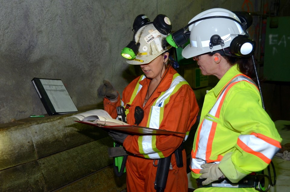 Workplace Safety North provides assistance in pandemic planning for mining operations. (WSN photo)