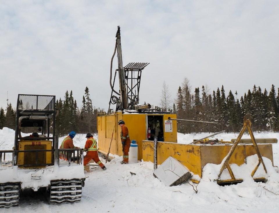 Moneta Porcupine Mines (2019-20 winter drilling)