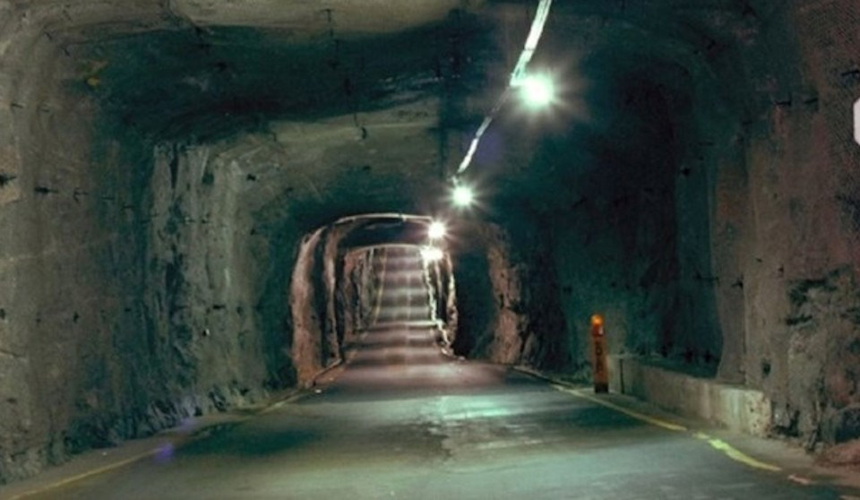 NORAD underground complex, North Bay (NORAD Complex Campaign Twitter page)