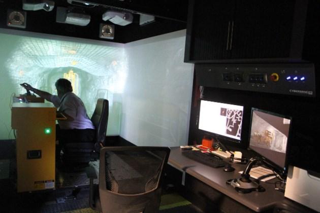 NORCAT sandvik simulator
