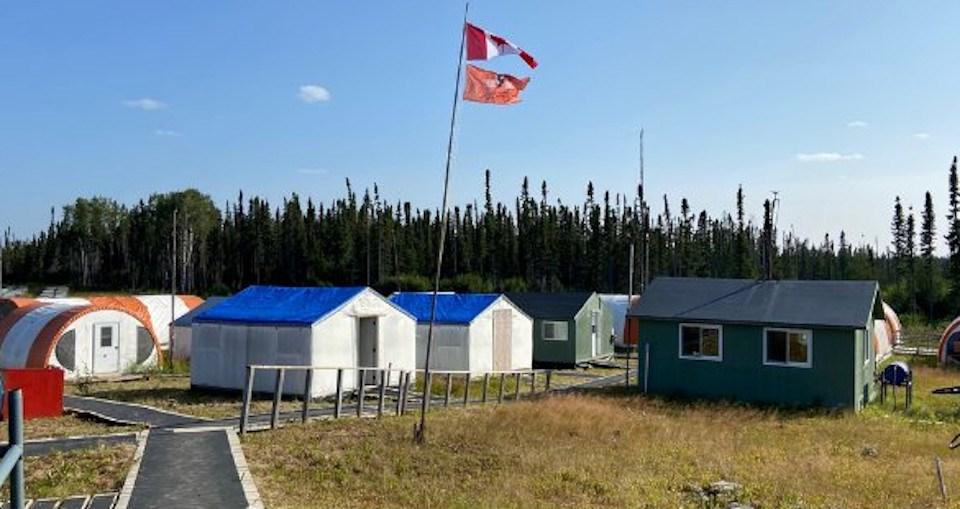 Noront Esker Camp Aug 2021