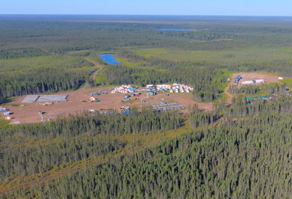 Noront Resources Esker camp aerial (June 2020)