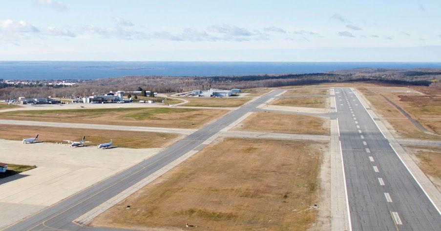 North Bay airport runway