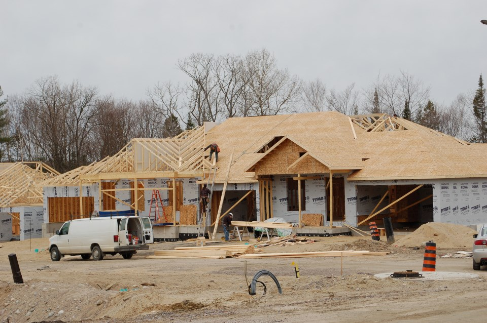 North Bay home construction (2012)