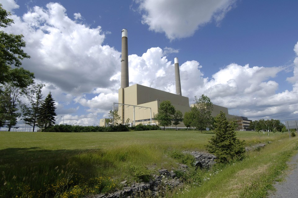 Ontario Power Generation gas plant