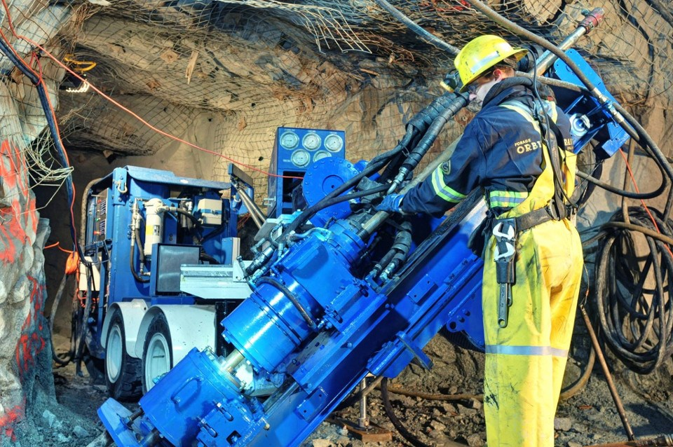 Orbit Garant drilling photo
