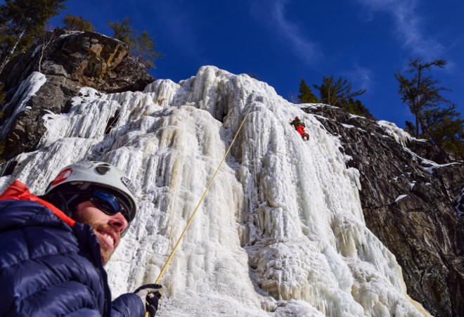 Thunder Bay's Aric Fishman, founder of Outdoor Skills and Thrills is showcasing northwestern Ontario's cliffs and crags to climbing enthusiasts and visitors.