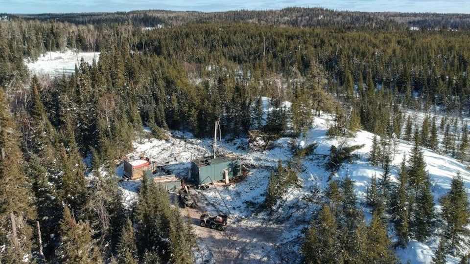 Pacton Gold Red Lake drill site